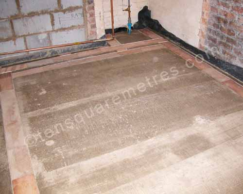 screed dry